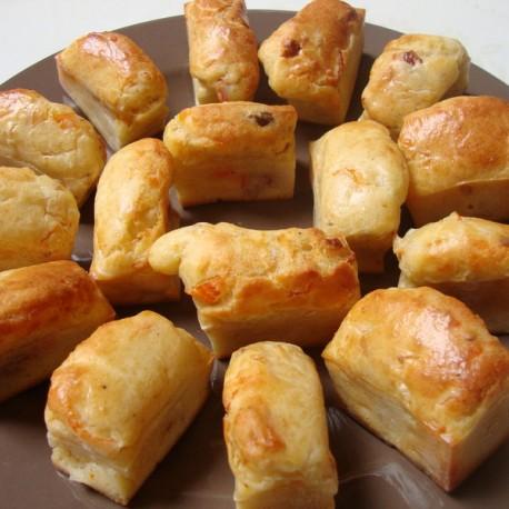 Mini-cakes salés au surimi