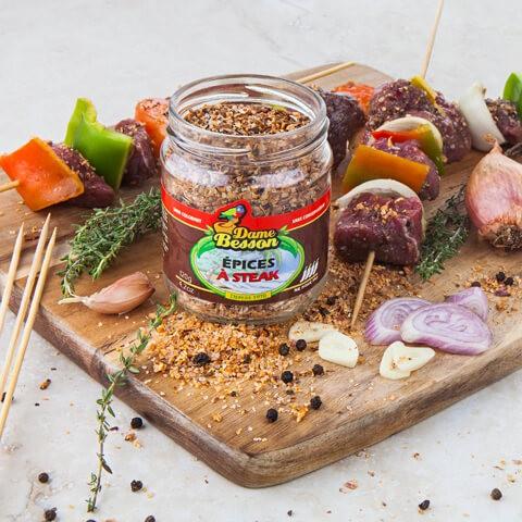 Épices à Steak et brochettes