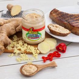 Sauce des Boucaniers au Gingembre, côte de porc et toast