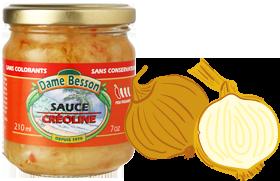 Produit star : Sauce Créoline