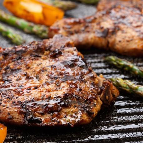 Côtelettes de porc au BBQ
