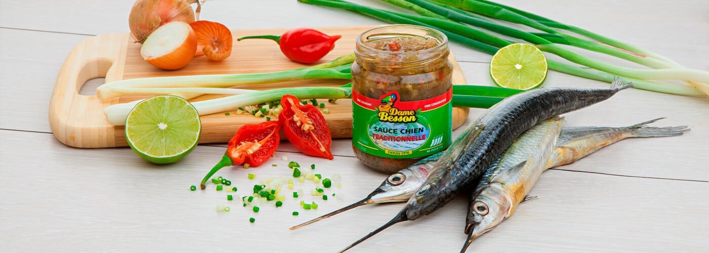 Sauce Chien Traditionnelle et balaou